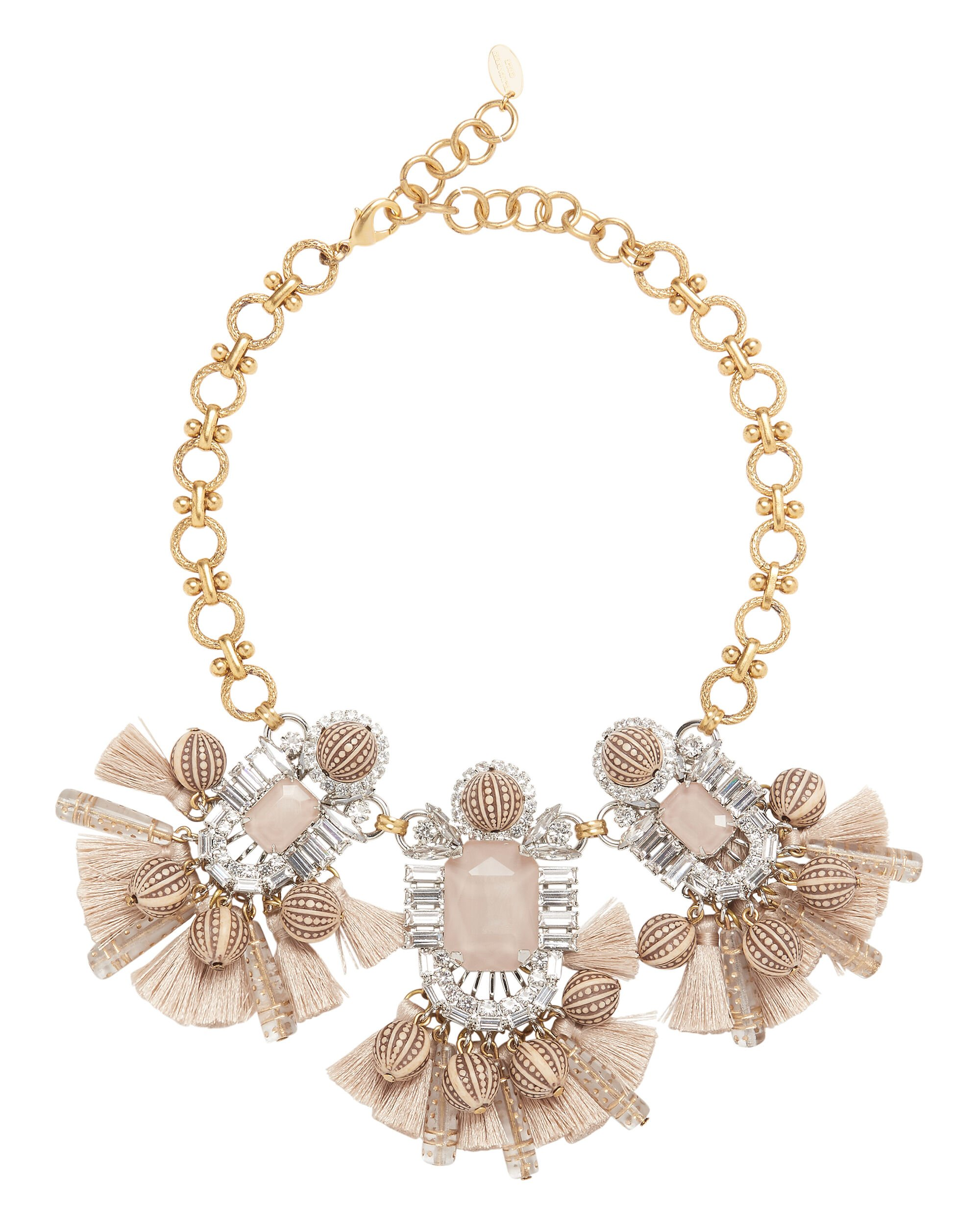 Tuva Statement Necklace, BLUSH/NUDE, hi-res