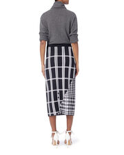 Multi Tartan Check Skirt, MULTI, hi-res