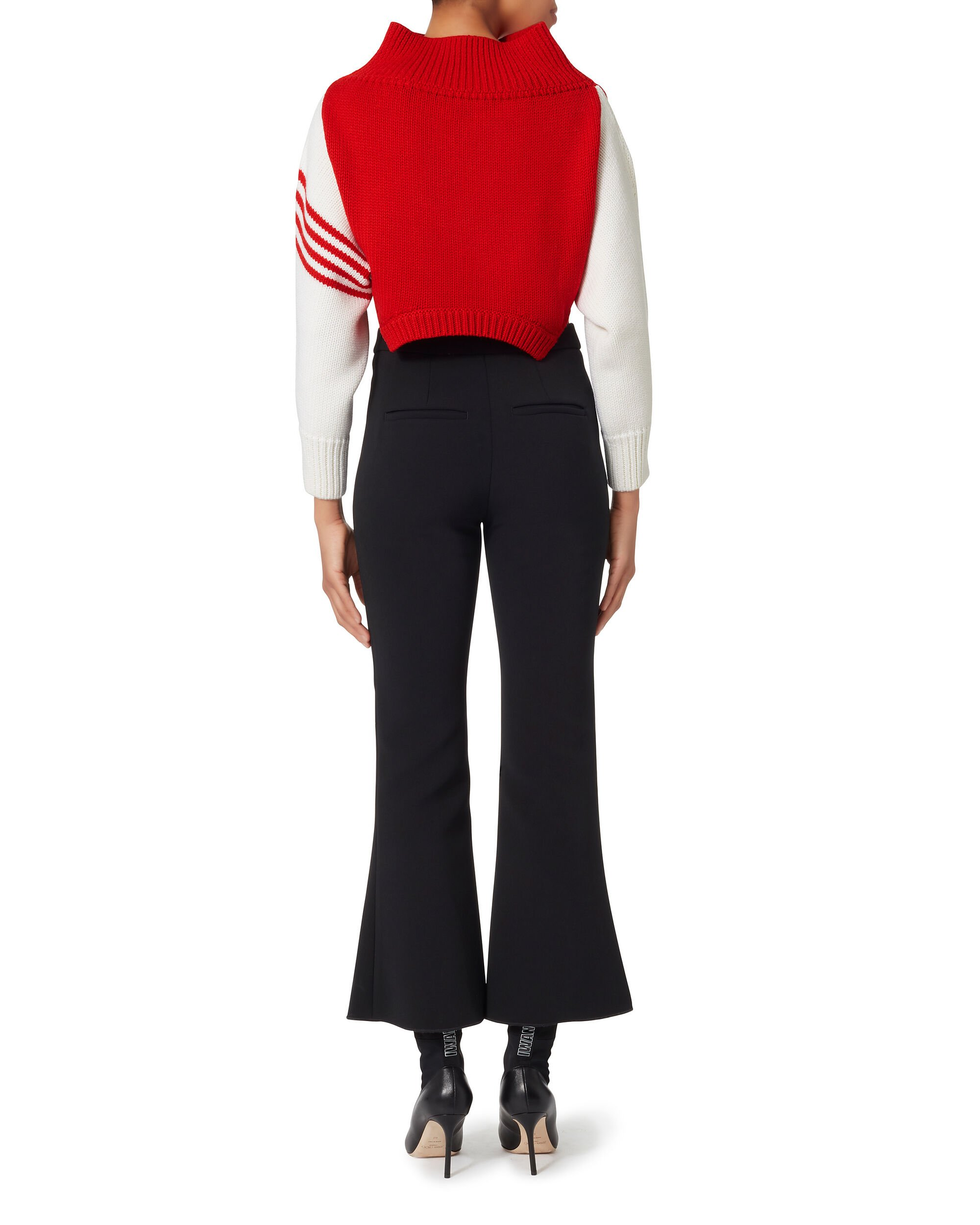 Upside Down Cropped Sweater, MULTI, hi-res