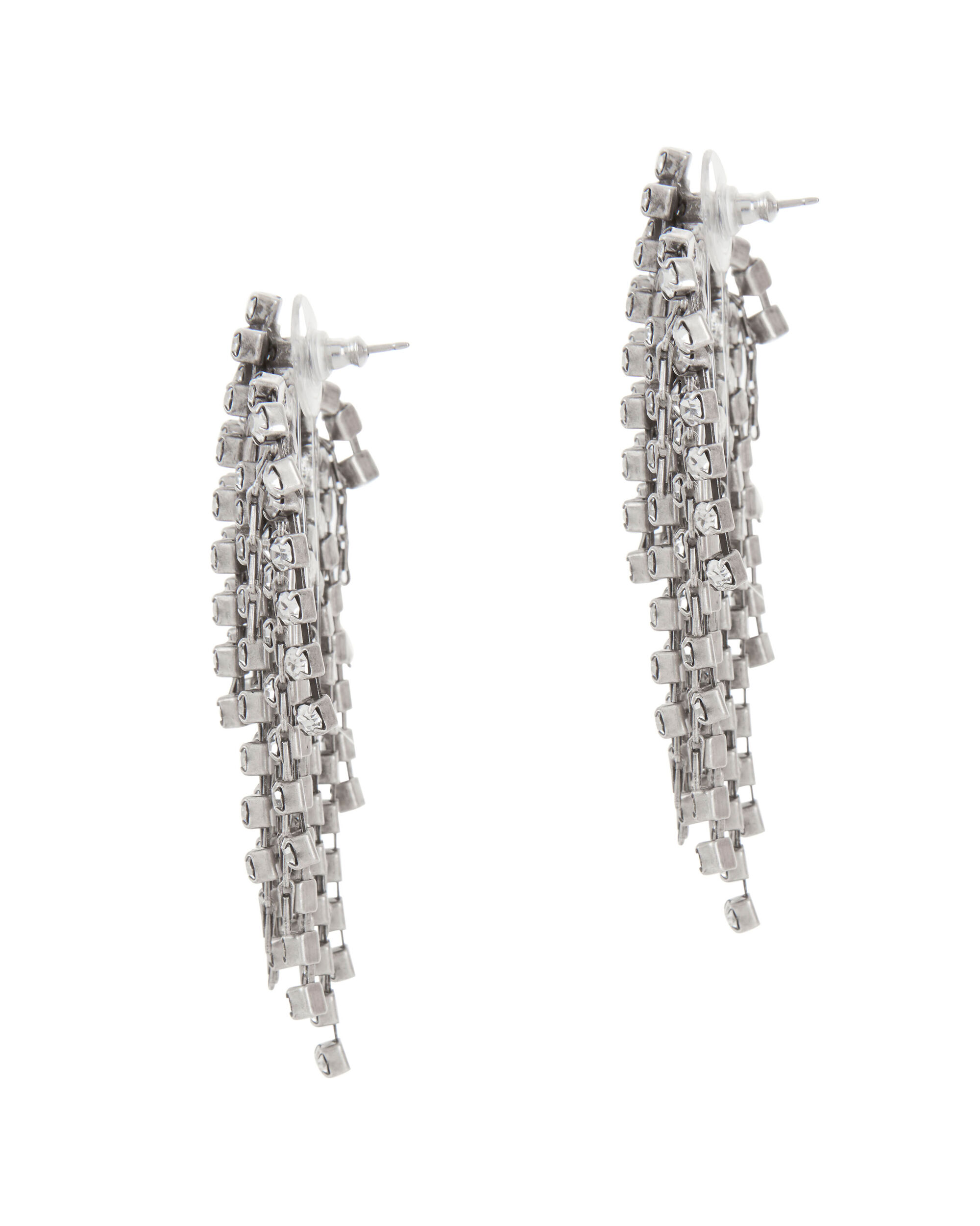 Cecile Crystal Earrings, , hi-res