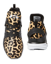 Ascend Leopard High-Top Sneakers, PATTERN, hi-res