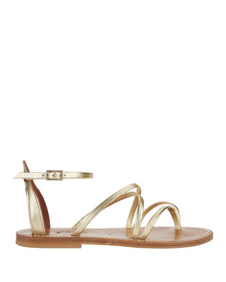 Epicure Metallic Gladiator Sandals, METALLIC, hi-res