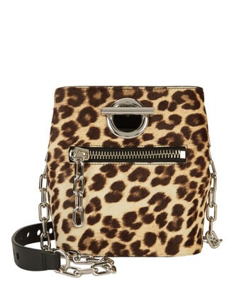 Leopard Riot Bag, BROWN, hi-res