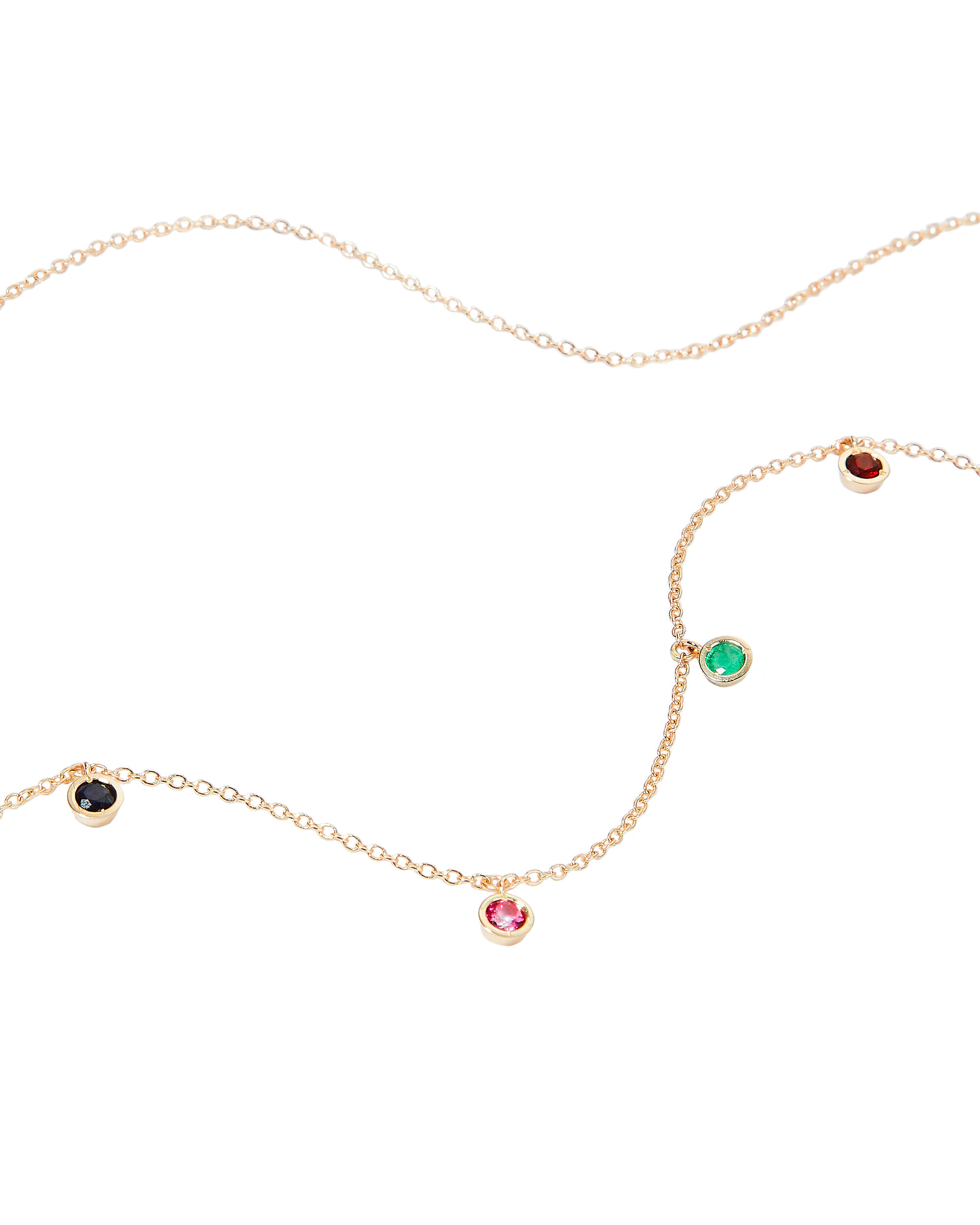Candy Crush Droplet Necklace, GOLD, hi-res