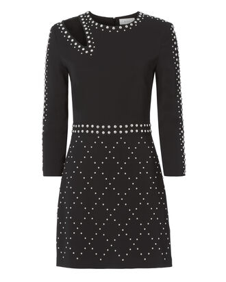 Taraji Studded Dress, BLACK, hi-res