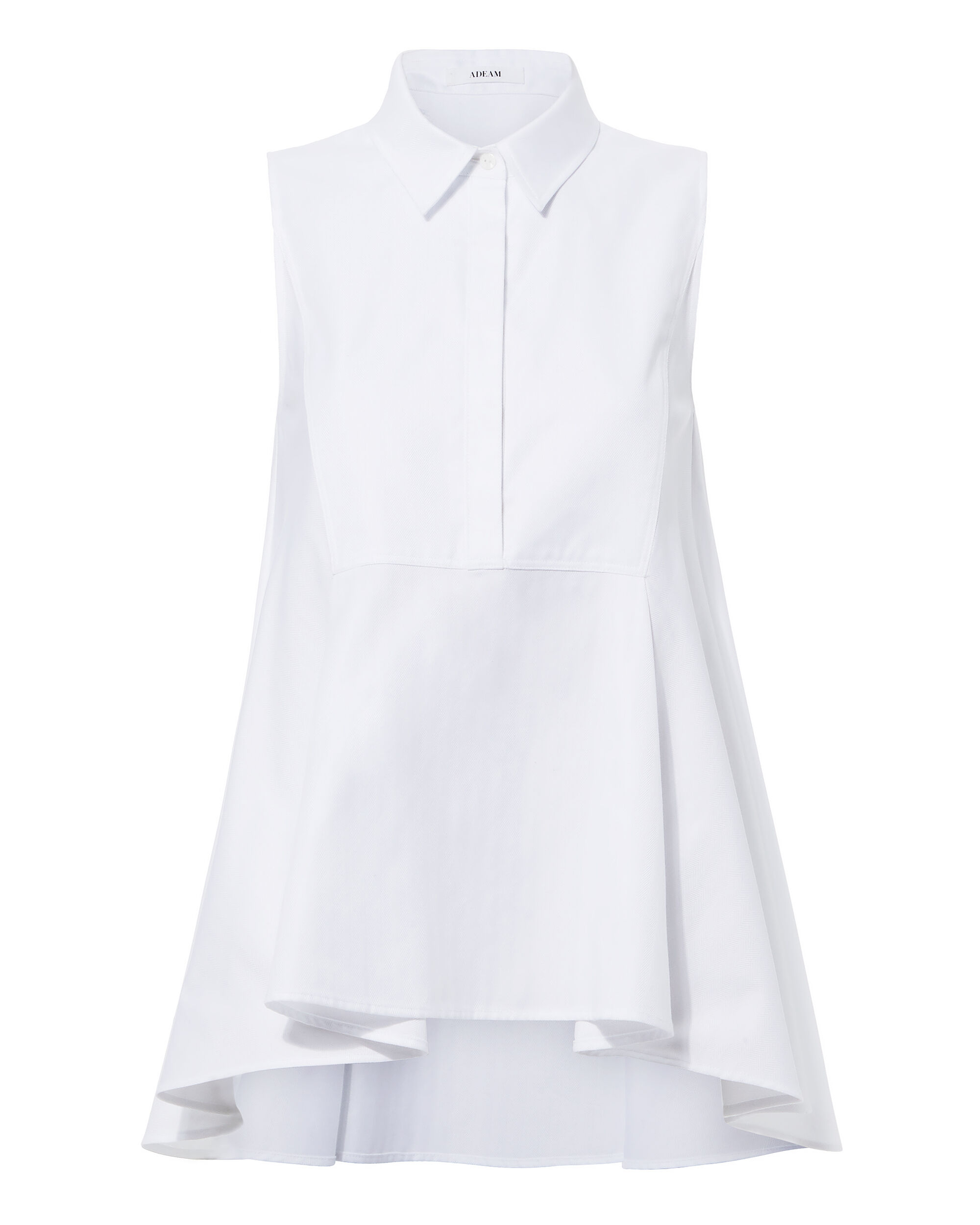 ADEAM White High-Low Top