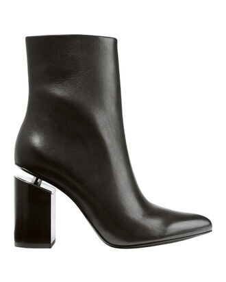 Kirby High Heel Booties, BLACK, hi-res