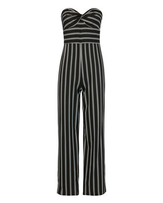 Cypress Striped Cropped Jumpsuit, BLK/WHT, hi-res
