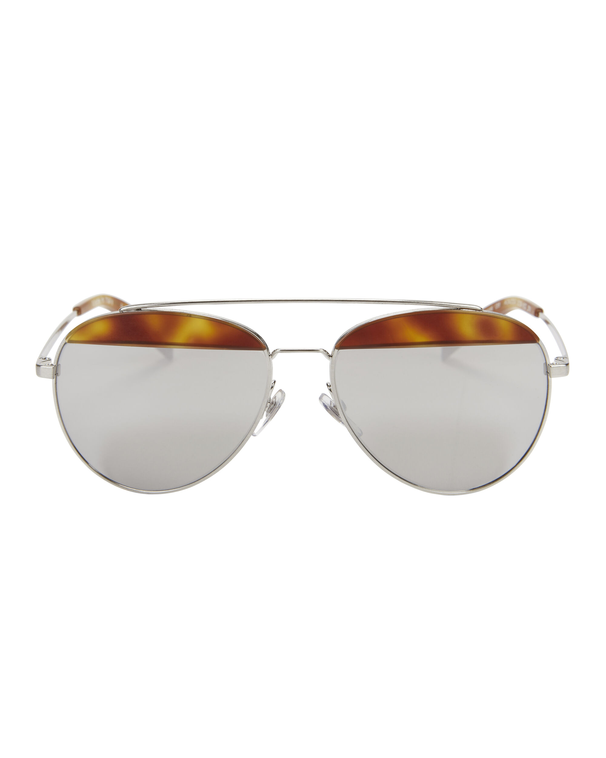 Oliver Peoples for Alain Mikli Aviator Sunglasses, BLACK, hi-res
