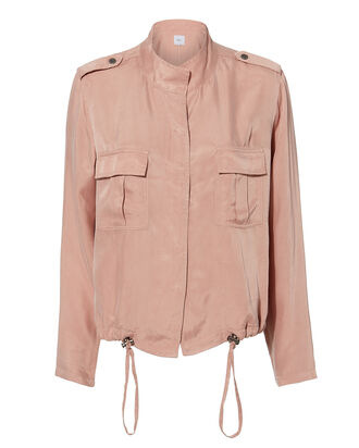 Rowan Blush Jacket, PINK, hi-res