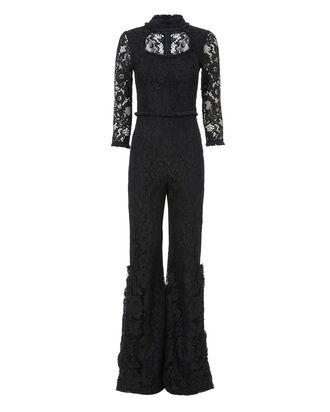Debra Lace Jumpsuit, NAVY, hi-res