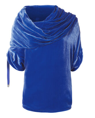 Blue Velvet Top, BLUE-MED, hi-res