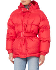 Michlen Red Puffer, RED, hi-res