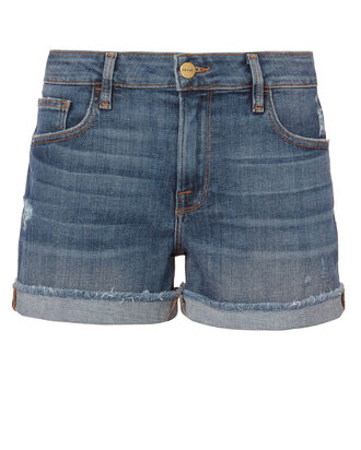 Aldred Shorts, DENIM, hi-res