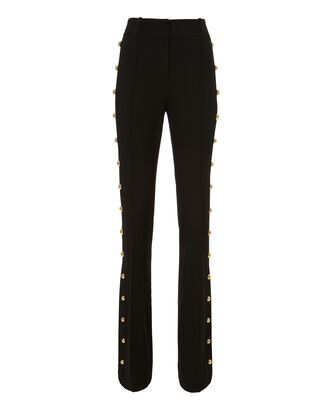 Lennox Embellished Trousers, BLACK, hi-res