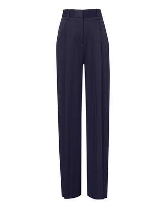 Fluid Wide Leg Pants, NAVY, hi-res