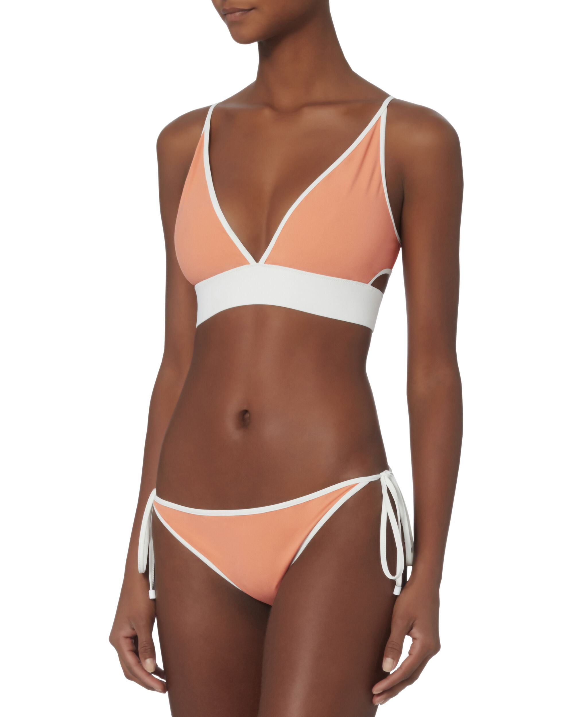 Reversible String Bikini Bottom, ORANGE, hi-res