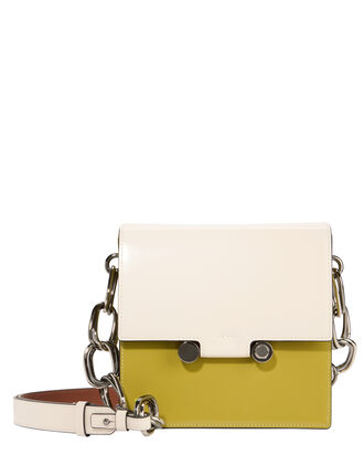 Chain Link Colorblocked Box Bag, MULTI, hi-res