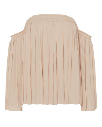 Emelyn Off-The-Shoulder Top, BEIGE/KHAKI, hi-res
