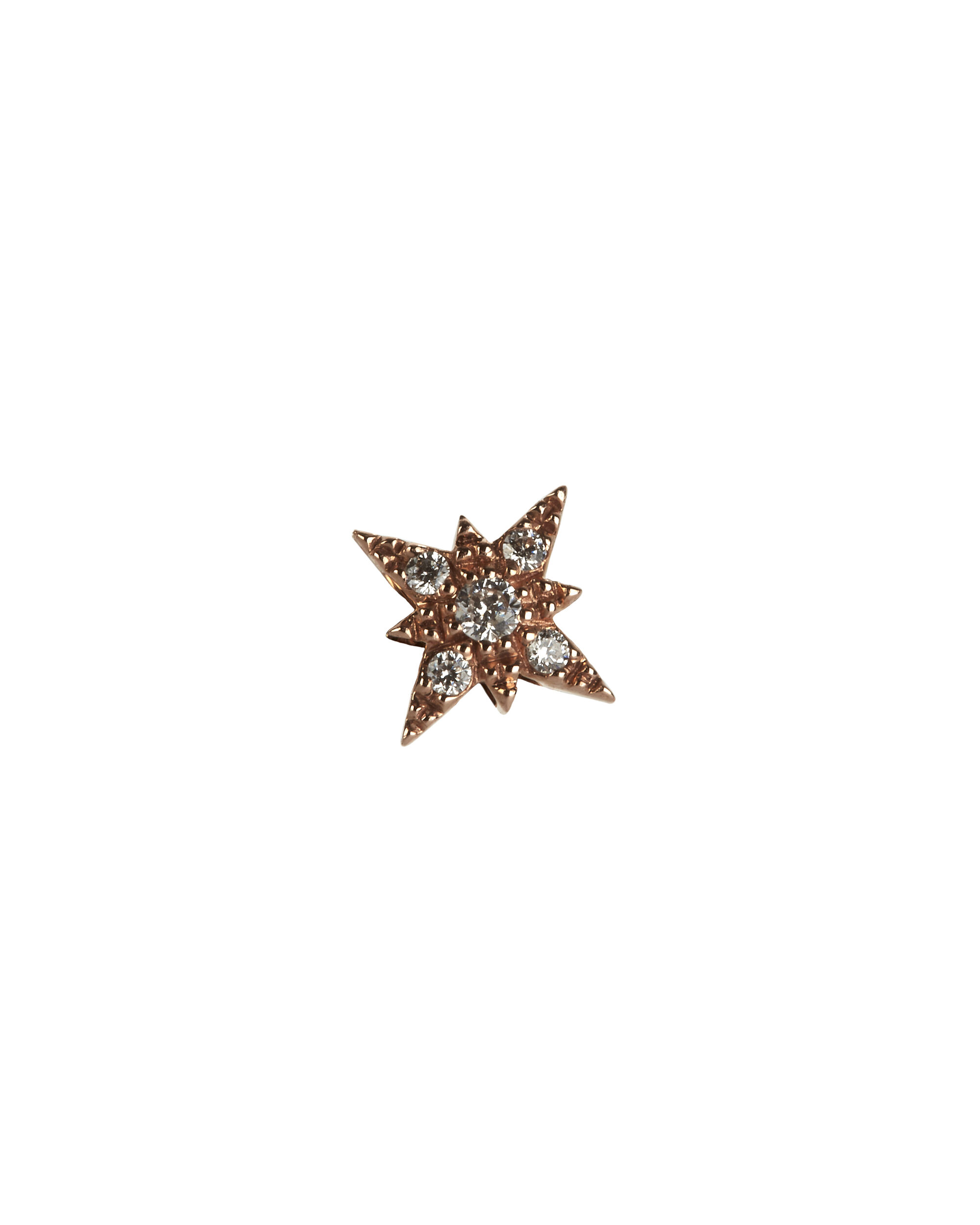 Pavé Shining Star Stud, METALLIC, hi-res