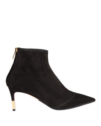 Blair Kitten Heel Booties, BLACK, hi-res