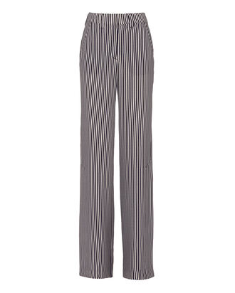 Miles Striped Silk Pants, PATTERN, hi-res