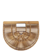 Ark Chestnut Small Clutch, BROWN, hi-res