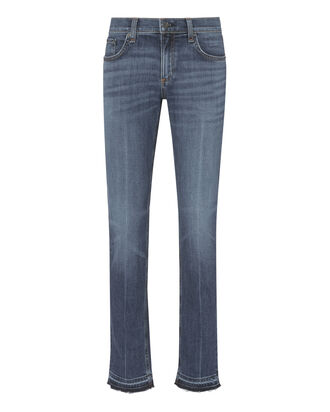 Dre Coopers Raw Hem Jeans, DENIM, hi-res