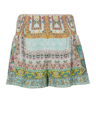 Sisters Of The Marigold Flounce Shorts, MULTI, hi-res