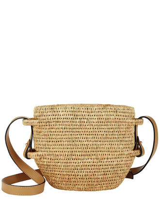 Thembi Bucket Bag, BROWN, hi-res