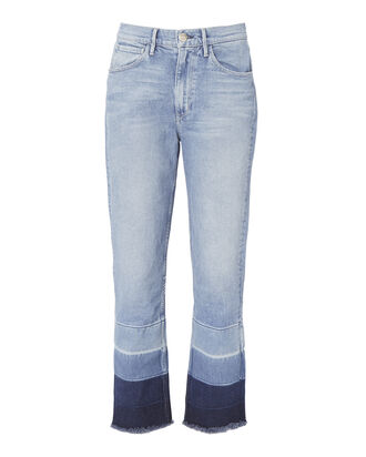 Shelter Straight Leg Jeans, DENIM, hi-res