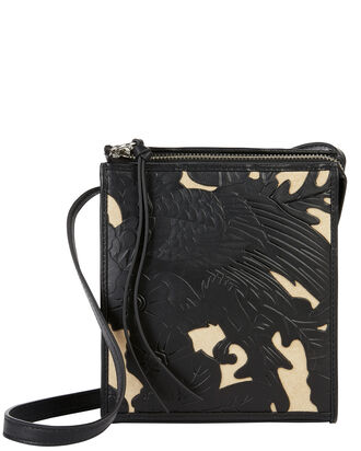 Sara Artisan Crossbody Bag, BLACK, hi-res