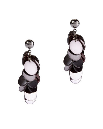 Plexi Cascade Earrings, METALLIC, hi-res