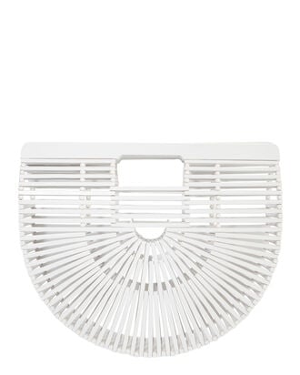 White Ark Clutch, WHITE, hi-res