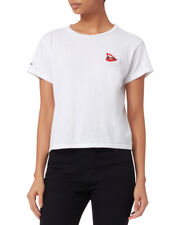 Cindy Crawford Lips T-Shirt, WHITE, hi-res