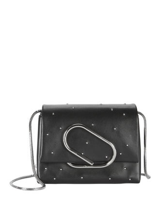 Alix Studded Leather Crossbody Bag, BLACK, hi-res