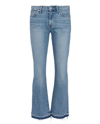 Gia Crop Flare Jeans, DENIM-LT, hi-res