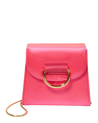 D Tiny Box Pink Shoulder Bag, PINK, hi-res