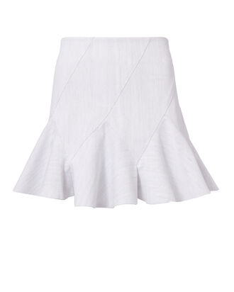 Godet Mini Skirt, GREY-LT, hi-res