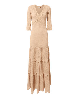 Hazel Lace Maxi Dress, PINK, hi-res