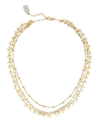 Multi Chain Necklace, GOLD, hi-res