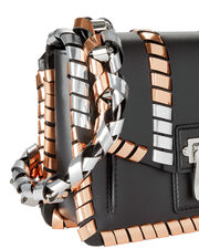 Hava Chain Shoulder Bag, BLACK, hi-res