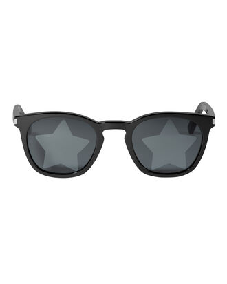 Star-Embossed Sunglasses, BLACK, hi-res
