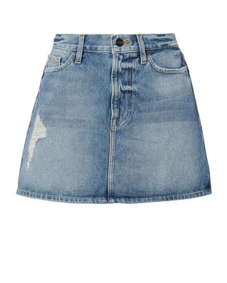 Le Deanville Wash Skirt, DENIM, hi-res