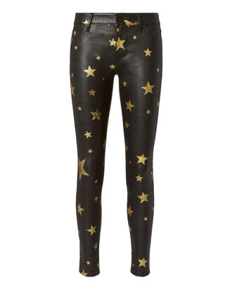 Prince Gold Star Leather Pants, BLACK, hi-res