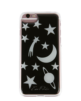 Celestial Glow-In-The-Dark iPhone 6 or 7 Case, BLACK, hi-res