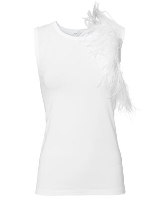 Feather Tank, WHITE, hi-res