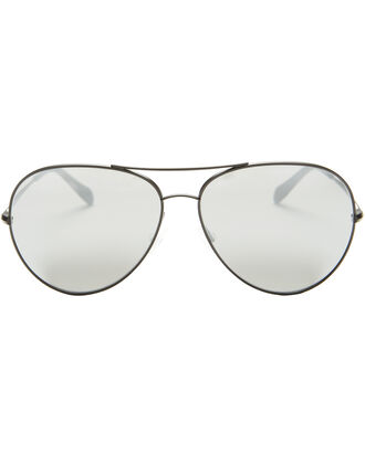 Sayer Aviator Sunglasses, BLACK, hi-res