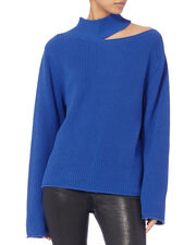 Langley Blue Lagoon Sweater, BLUE-MED, hi-res