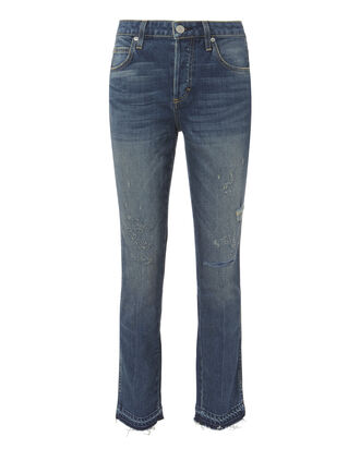 Babe High-Rise Dive Bar Jeans, DENIM, hi-res